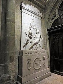 Dalberg Epitaph im Regensburger Dom (Quelle: Wikimedia)