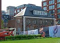 2018 Woolwich Royal Arsenal, Pavilion Square construction site 04.jpg