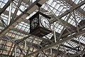 2018 at Glasgow Central station - concourse clock.JPG