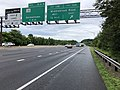 2019-06-18 13 34 30 View north along Interstate 270 (Washington National Pike) at Exit 13A (Middlebrook Road EAST) in Germantown, Montgomery County, Maryland.jpg