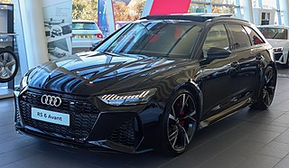 Audi RS 6 Motor vehicle
