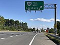 2020-09-30 14 54 32 View east along Virginia State Route 606 (Old Ox Road) at the exit for Virginia State Route 267 WEST (Leesburg) in Ashburn, Loudoun County, Virginia.jpg