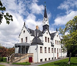 20210530210DR Freital Burgk Schloß Burgk Westseite