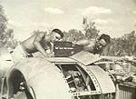 23 Squadron RAAF Liberator engine maintenance Darwin NT Jun 1945 AWM NWA0912.jpg