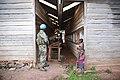 26 mars 2015. Nyanzale, Nord Kivu. Un casque bleu monte la garde lors d'une rencontre officielle de la MONUSCO avec la population civile. (17174487471).jpg