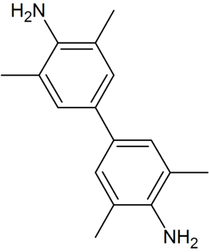 3,3',5,5'-Tetramethylbenzidine - Image: 3,3',5,5' Tetramethylbenzidine