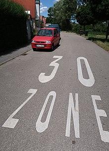 Tempo 30 Zone Wikipedia
