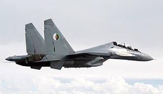 Algerian Air Force - An Algerian Su-30MKA