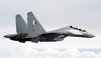 Algerian Air Force - An Algerian Su-30MKA