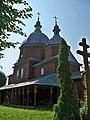 4.Кізлів.Церква Св. арх. Михаїла (дер.).Фото.JPG