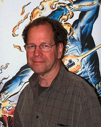 Bob Budiansky - Budiansky at the 2015 East Coast Comicon in Secaucus, New Jersey