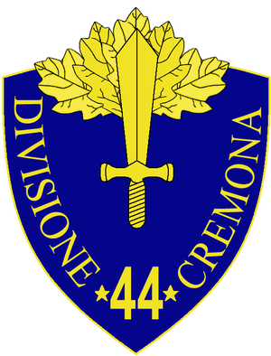 44th Infantry Division Cremona - 44th Infantry Division Cremona Insignia
