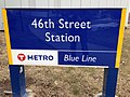 46th Street light rail station sign.jpg