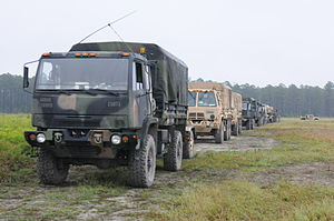 Family of Medium Tactical Vehicles - Image: 48th Infantry Brigade XCTC 130923 A AX030 251