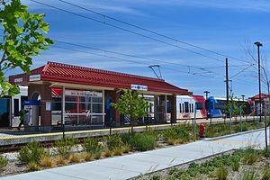 5600 West Old Bingham Highway (UTA station) - Image: 5600 West TRAX station
