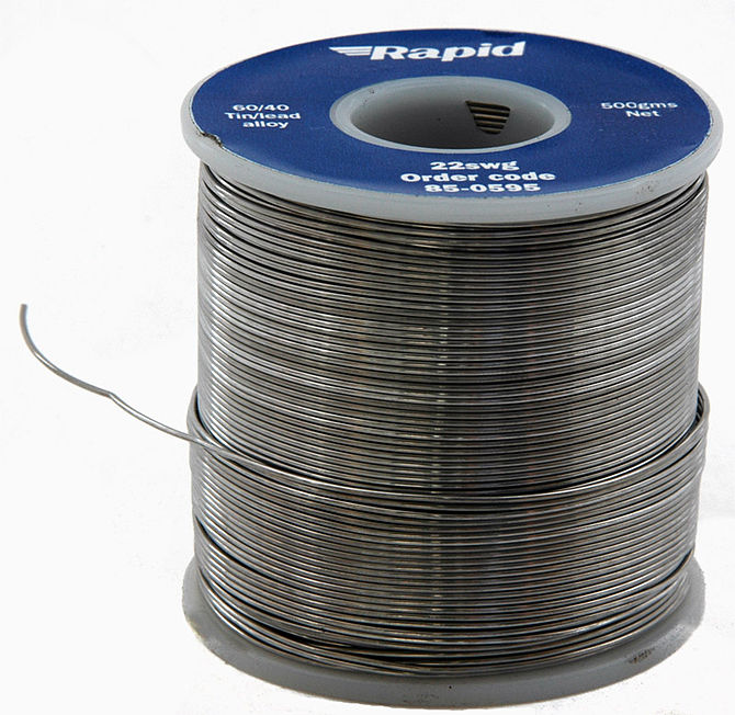 A 500g reel of 22swg 60/40 Solder