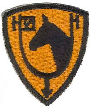 61st Cavalry Division (United States) - Shoulder Sleeve Insignia of the 61st Cavalry Division