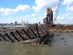 69th St Hudson RR bridge sinking jeh.jpg