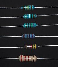 Resistor - Simple English Wikipedia, the free encyclopedia