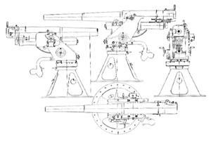 7.5 cm L/45 M/16 anti aircraft gun - The patent drawing of the 7.5 cm L/45 M/16 anti-aircraft gun