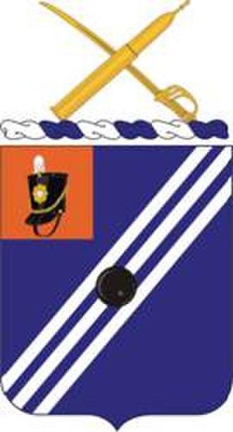 76th Field Artillery Regiment - Coat of arms