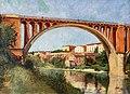 81 - Les remparts et le pont à Rabastens - Paul Prouho - Musée du Pays rabastinois - Inv.2014.25.1.jpg
