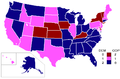 88th Congress-Senate Map.png