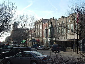 Holland, Michigan - Image: 8th Street Holland