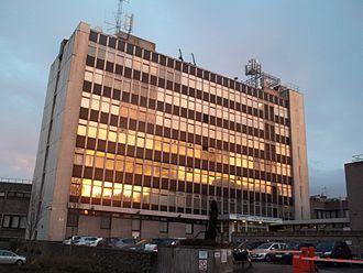 Grampian Police - Grampian Police Headquarters at Queen Street in Aberdeen