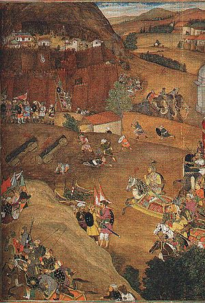 Dharur, Beed - A'zam Khan captures Fort Dharur (January 1631)