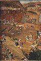 A'zam Khan captures Fort Dharur (January 1631).jpg
