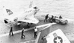 A-4B of VA-95 on the flight deck of USS Intrepid (CVS-11) in 1966.jpg