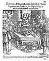 "A. Magnus, ""Darin durch sechs..."", 1551; man studying a book Wellcome L0003173.jpg"