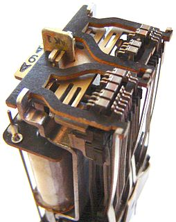 Wire spring relay