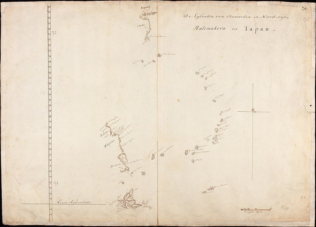 FileAMH5182NA Map of the islands of Japan to Halmaheirajpg