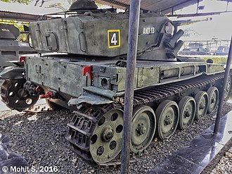 Battle of Asal Uttar - Image: AMX 13 Tank. (31455642351)