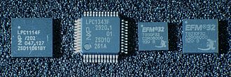 ARM Cortex-M - ARM Cortex-M0 and Cortex-M3 microcontroller ICs from NXP and Silicon Labs (Energy Micro)