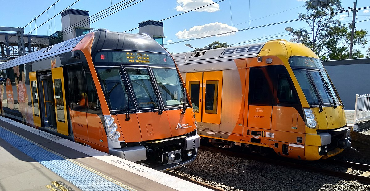 Model 3 Torque >> Sydney Trains A & B sets - Wikipedia