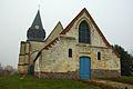 A Church in Querrieu, Somme, France.jpg
