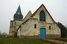 A Church in Querrieu, Somme, France.jpg