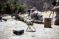 A New Zealand soldier, left, fires a weapon during training with U.S. Marines with Charlie Company, 1st Reconnaissance Battalion, 1st Marine Division during exercise Dawn Blitz 2013 at Marine Corps Base Camp 130612-M-SF473-036.jpg