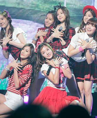 Apink - A Pink at the GSL Season 5 Code S Final Performance, 2011