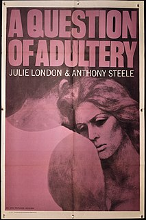 <i>A Question of Adultery</i> 1958 film
