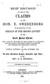 A brief discussion of some of the claims of the Hon. E. Swedenborg.pdf