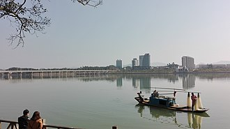 Yudu County - Image: A photo of yudu city beside the gong river