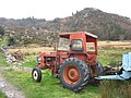 A vintage Allis-Chalmers at work in difficult terrain - geograph.org.uk - 341565.jpg