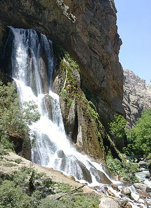 Aligudarz County - Image: Ab sefid aligoodarz