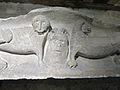 Abbaye Saint-Germain d'Auxerre-Linteau de porte romane (1).jpg