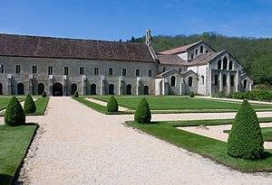 Côte-d'Or - Image: Abbaye de Fontenay Eglise Batiments