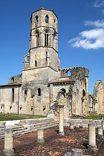Abbaye de la Sauve Majeure1.JPG